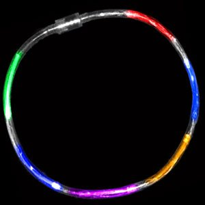 Fun Central R374 LED Light Up Light Chaser Necklace - Multicolor - 1