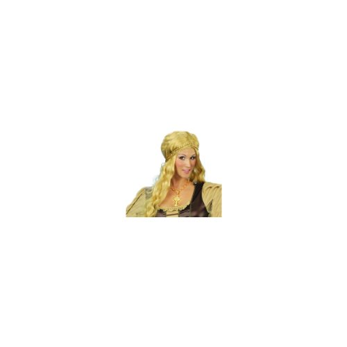 Renaissance Wig Sexy Women's Adult Halloween Outfit - One Size Fits Most Adults