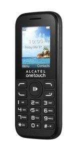 Alcatel 1052D-3AALDE1 10.52D 4,57 cm (1,8 Zoll) Smartphone (Bluetooth, Dual SIM, SD Karten-Slot bis 32 GB) schwarz