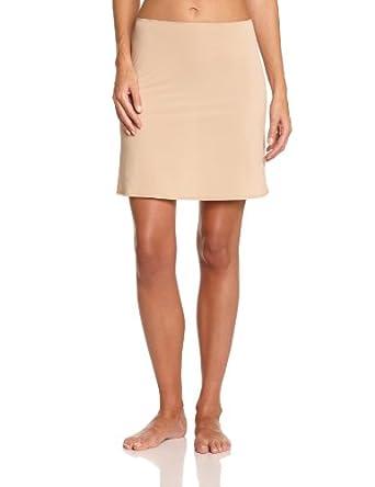 Calvin Klein Underwear - Jupon - Uni - Femme - Beige (Chair) - FR : 38 (Taille fabricant: Large)