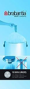 Brabantia Bin Liner H, 40-50 Litre - 10 Bags
