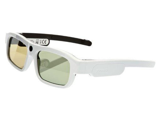 Xpand X104LX2 YOUniversal 3D Glasses, Large (White)