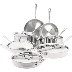 All Clad Stainless Steel 14-Piece Cookware Set