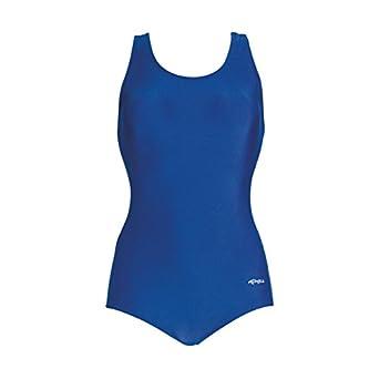 Dolfin Conservative Lap Suit Womens - Royal 8