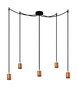 Bulb Attack copper leaves/black