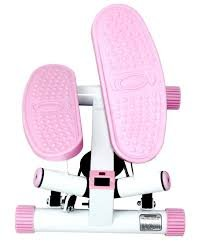 New Sunny Health & Fitness Pink Adjustable Twist Stepper