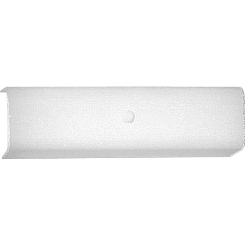 Progress Lighting P3111-30 2-Light Bath Bracket With White Glass Shades, White