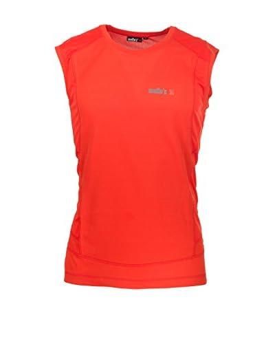 Mello's Camiseta sin mangas Top Resia Rojo Claro