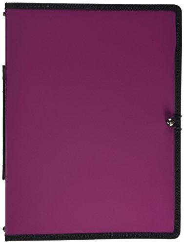 Mapac - Portafolios encuadernado para partituras musicales, tamaño A4, color marrón