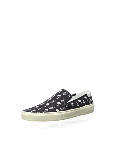 Saint Laurent Men's Printed Slip-On Sneaker