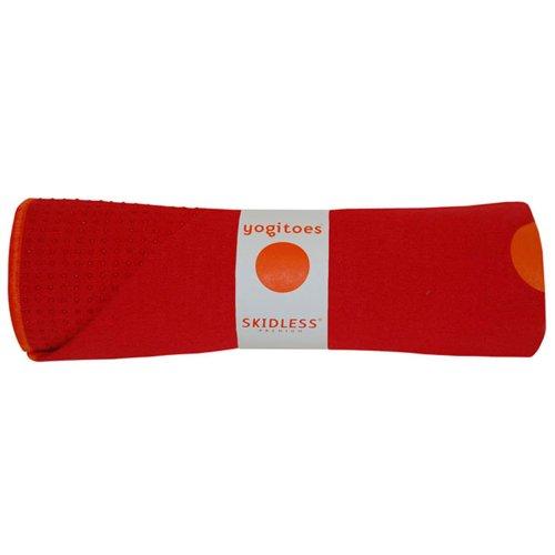 Imagen de Yogitoes Mat Skidless de Gran Tamaño de Yoga de toallas (rojo), Color Rojo, Talla Mat (24