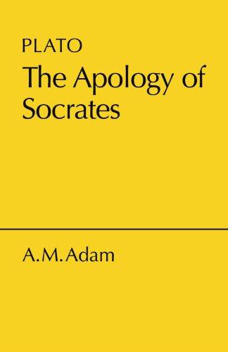 Apology of Socrates (Cambridge Elementary Classics: Greek)