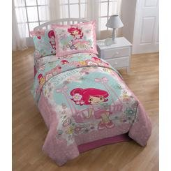 Strawberry Shortcake Twin Comforter and Sheet Set женская рубашка strawberry witch lolita