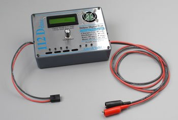 112DX Deluxe Digital Peak Charger/Discharger 1-40C
