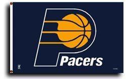 Indiana Pacers - NBA Flag
