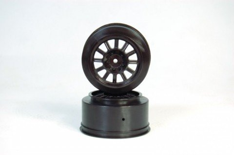 J Concepts 3330B Rulux Blitz Wheel, Black (2) - 1