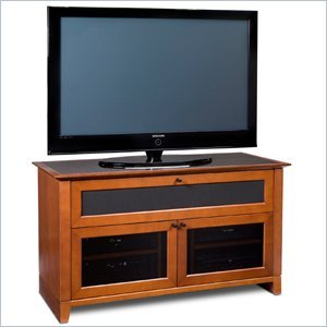 Cheap BDI Novia LCD/Plasma Wood TV Stand in Natural Stained Cherry Finish (8428CH)