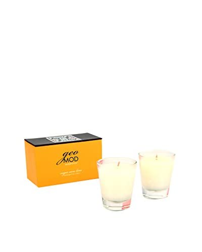 Seda France 2 Sets of Sugar Cane Lime Votives