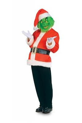 The Grinch Santa Men's Costume Adult Halloween