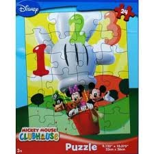 Amazon.com: Mickey Mouse Clubhouse 24-piece Puzzle - Hot Air Balloon