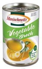 Manischewitz All Natural Vegetable Broth 14 oz. (Pack of 12)
