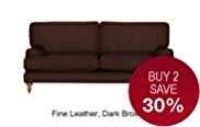 Georgia Medium Sofa - Leather