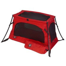 T2 Travel Cot - Red - Buy T2 Travel Cot - Red - Purchase T2 Travel Cot - Red (Sports & Outdoors, Categories, Camping & Hiking, Camping Furniture, Cots)