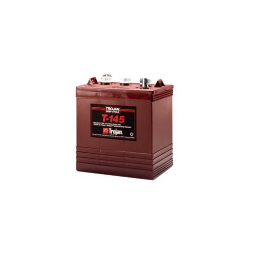 Trojan T-145 6V 260Ah Flooded Lead Acid Golf Cart Battery FAST USA SHIP (Trojan Golf Cart Batteries compare prices)