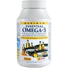 buy Maximum Essential Omega-3 Orange 360 Capsules