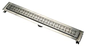 """ZS880 60"""" Stainless Steel Linear Shower Drain"""
