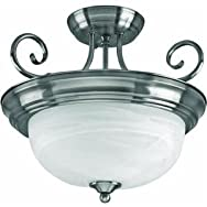 Canarm Imports ISF20A02BN 2-Light Ceiling Light Fixture
