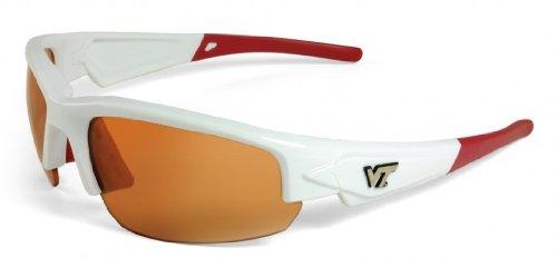 Virginia Tech Dynasty 2.0 White W/ Maroon Sunglasses