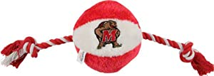 Maryland Terrapins Rope Plush Dog Toy