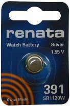 Silver Oxide Button-Cell Battery, 391