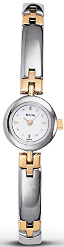 Bulova Women's 98T19 Petite Two-Tone Bracelet Watch