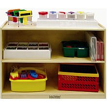 Early Childhood Resources ELR-0450 Deep Shelf Module With Back