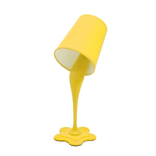Lumisource Ls-L-Woopsy Y Desk Lamp, Yellow