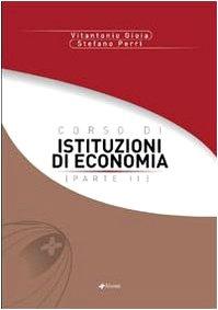 Corso di istituzioni di economia: 2