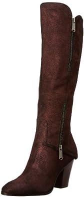 Donald J Pliner Women's Sandora-R2 Riding Boot,Bronze Sparkle Suede,6 M US