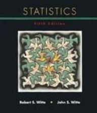 StatisticsRobert S Witte