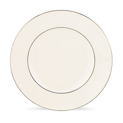 Lenox Continental Dining Platinum Bone China Accent Plate, 9-Inch