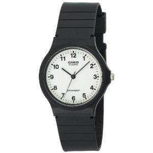 Casio Unisex MQ24-7B Analog Black Resin Watch