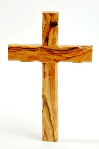 Olive Wood Cross 6 Inch