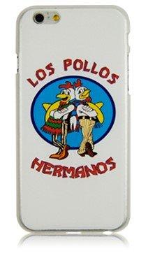 "NdB 1583 - Cover Case Custodia per iPhone 6 e 6S 4.7"" Stampa Los Pollos Hermanos Trasparente BrBa - Rigida"