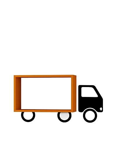 Matte Maison Estantería De Pared Truck Naranja