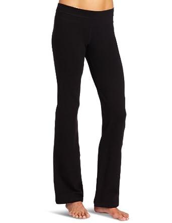Pure Karma Women's Organic Cotton Centered Pant (Black, X-Small)
