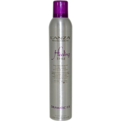 Healing Style Dramatic F/X Finishing Mist by L'anza for Unisex Hair Spray, 10.6 Ounce