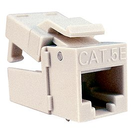 Platinum Tools 705AL-1 EZ-SnapJack Cat.5e Connector-Almond