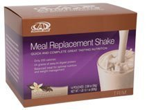 Advocare Meal Replacement Shakes - Box of 14 Single Serve Pouches-2.08oz net wt 1lb 13.1oz(vanilla Flavor)