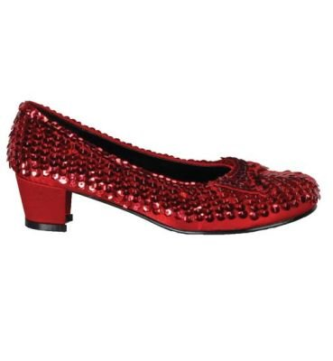 Red Sequin Shoe Child